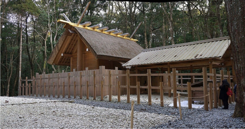 Ise Grand Shrine in Naiku, Japan