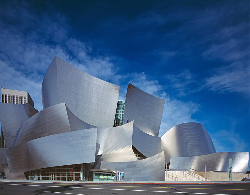 Frank Gehry's Guggenheim Museum in Los Angles
