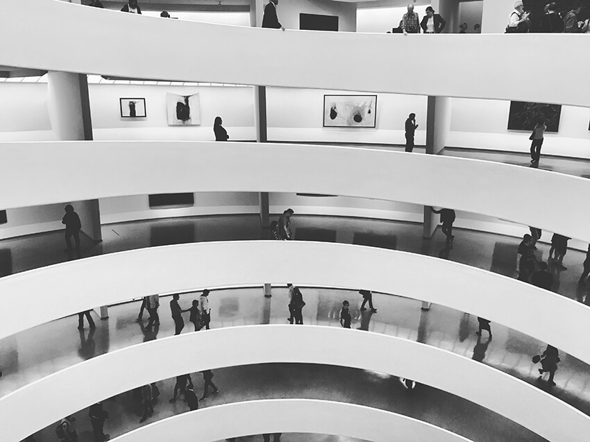 Guggenheim Museum in New York City, Frank Lloyd Wright