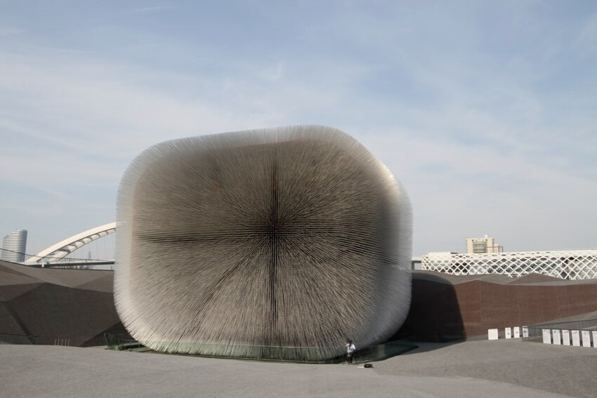 Shanghai's 2010 World Expo, UK Pavilion by Heatherwick Studio