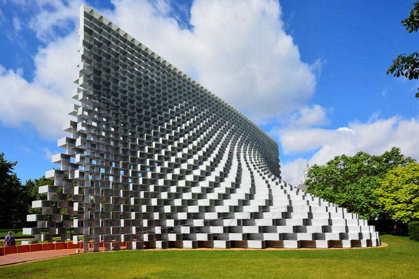 2016 Serpentine Gallery Pavilion by BIG in London