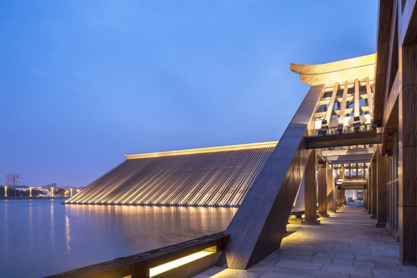 Shanghai Songjiang Guangfulin Site Cultural Exhibition Hall by CCDI