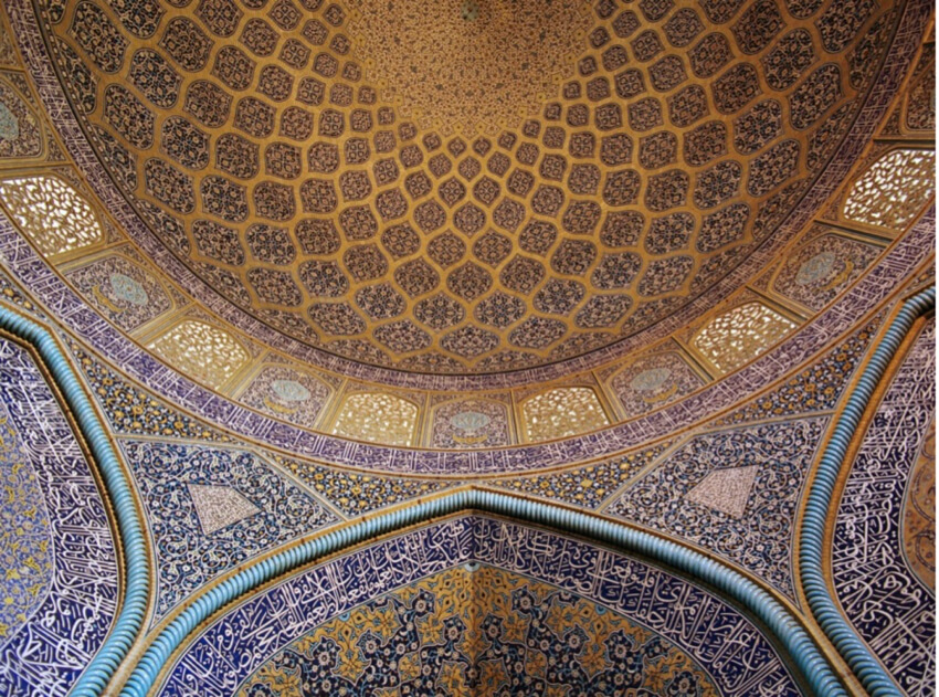 Floral Patterns at Sheikh Lotfollah Mosque