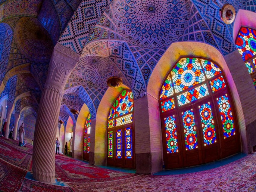 Nasir-Al-Molk Mosque in Iran