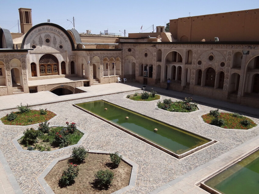 An ancient Iranian house in yazd, Iran