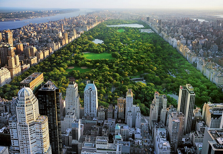 Central Park in New York City, United States