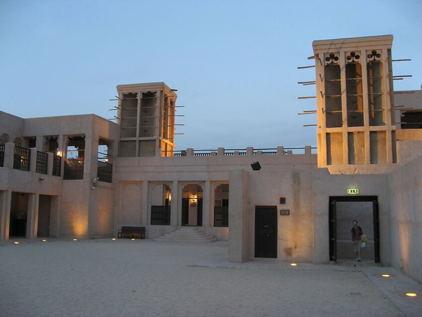 Iranian wind towers in Iran, Yazd