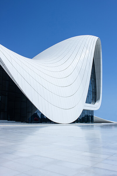 Zaha Hadid's Haidar Aliyev Center in Azerbaijan