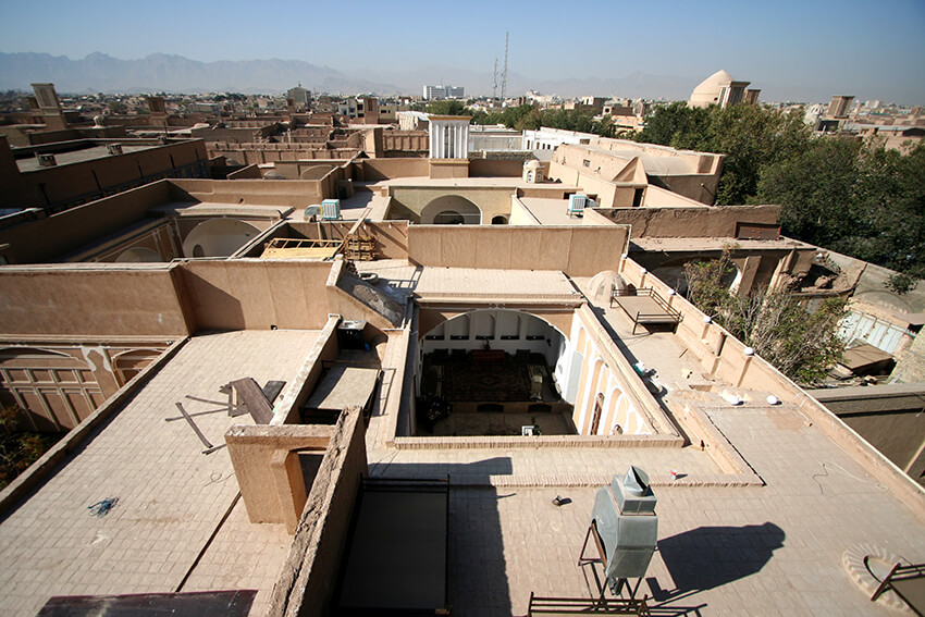 An ancient Iranian house in yazd