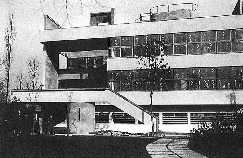 A housing project by Le Corbusier as an early modern African architecture