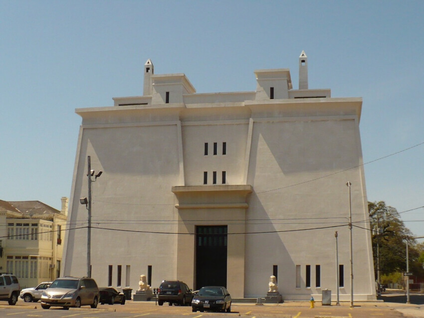 An Egyptian Governmental Building
