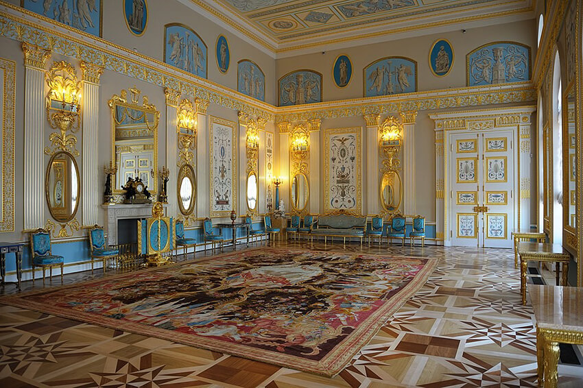 Mirror in a palace