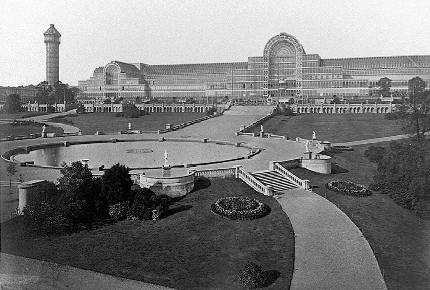Crystal Palace in Hyde Park, London