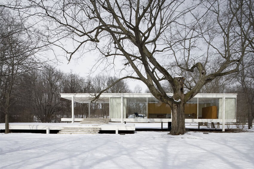 Farnsworth House in Illinois