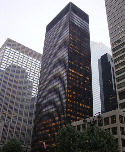 Seagram Building in New York City