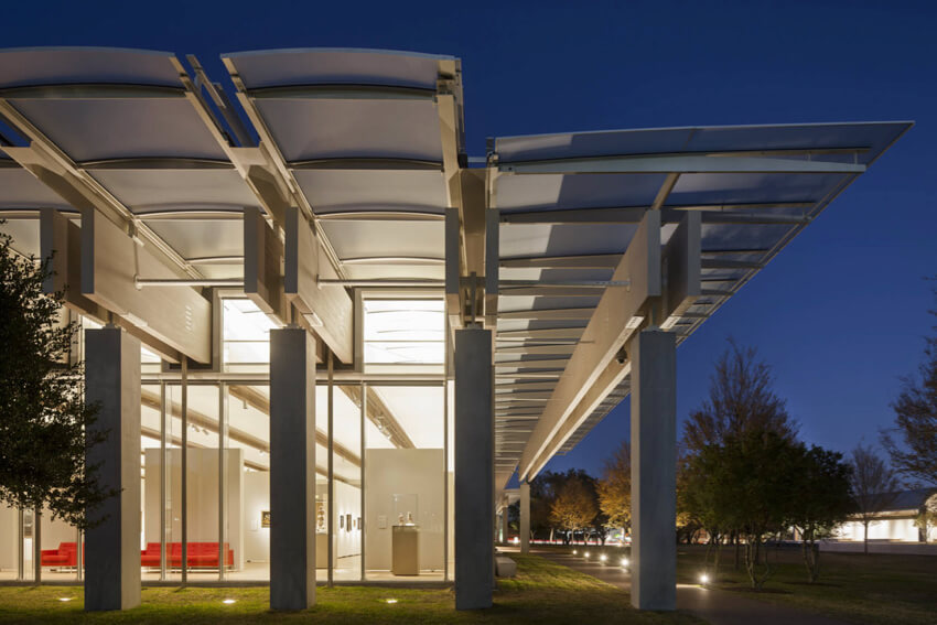 Kimbell Art Museum Expansion in Texas