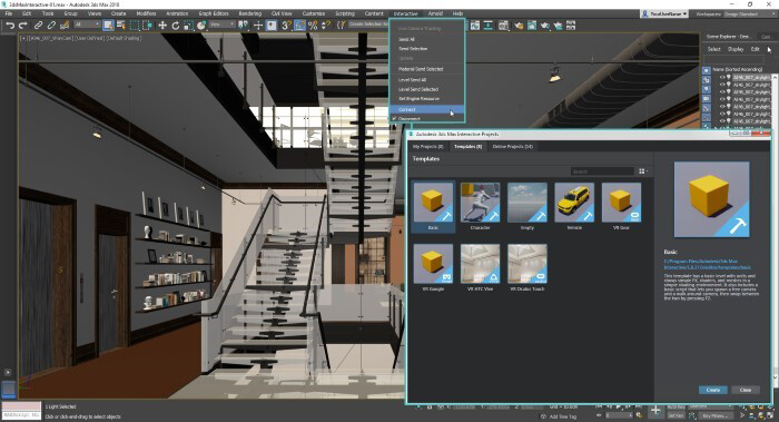 Software in architectural rendering