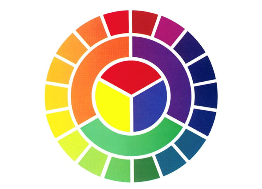 The wheel of Color in architecture