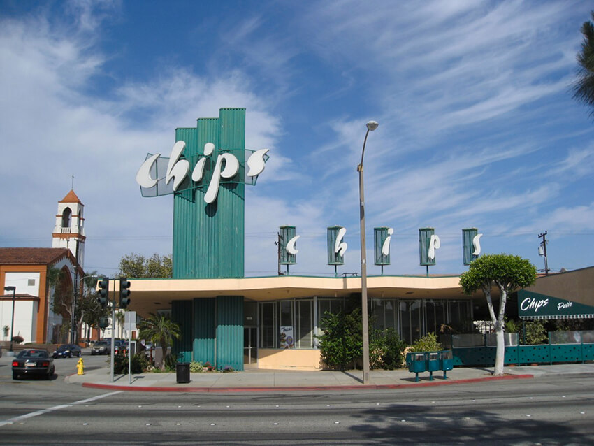 Chips restaurant - Los Angeles