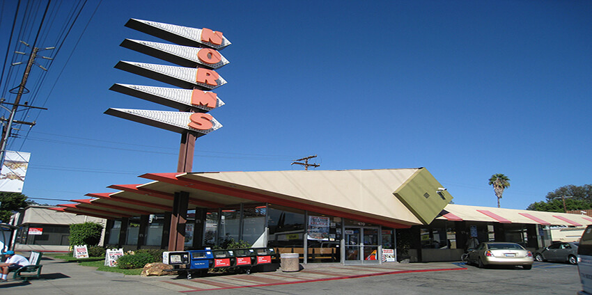 Norms La Cienega restaurant - Los Angeles