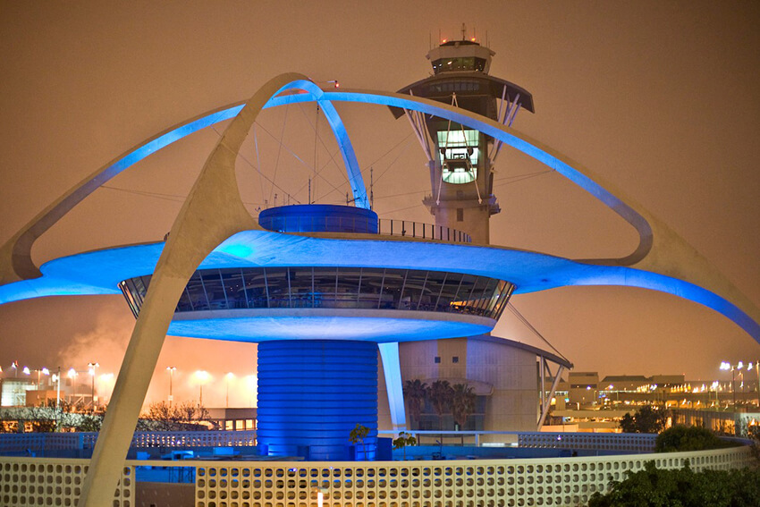 Theme Building at LAX - Los Angeles