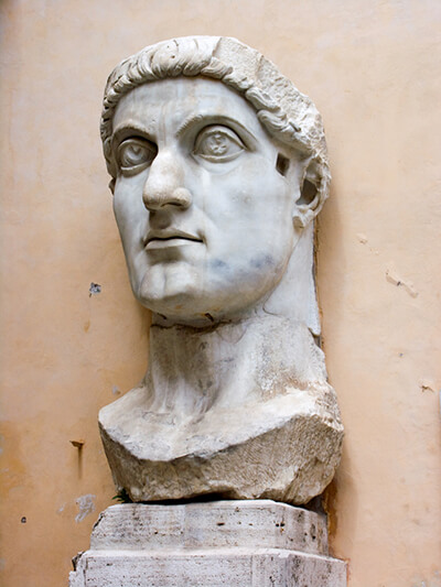 the Statue of Constantine the Great