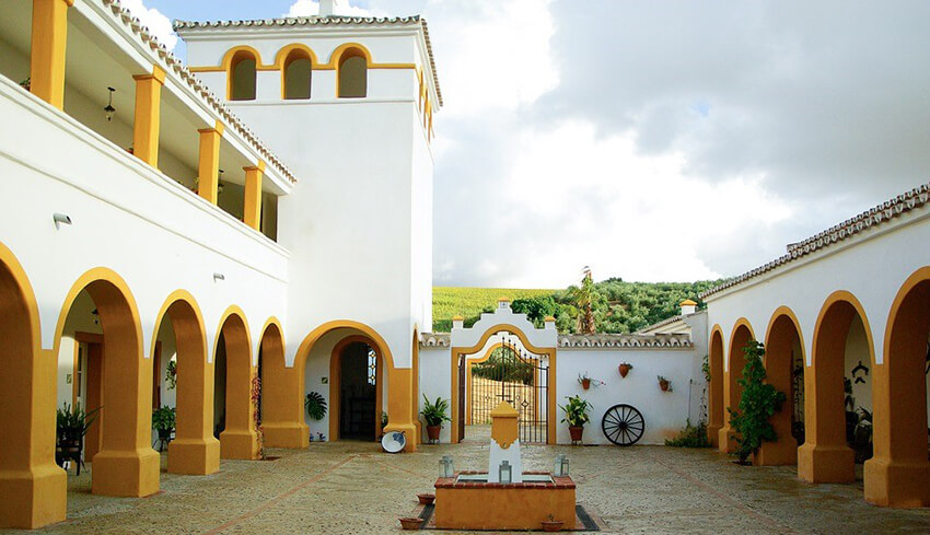 The Haciendas with the yellow pattern