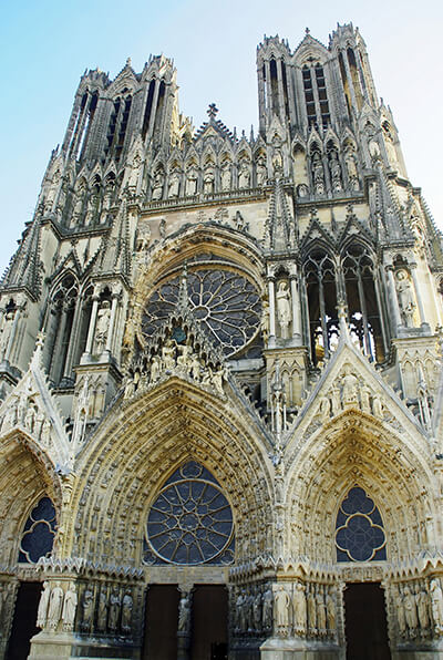 Reims Cathedral in Reims