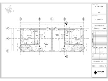 A Residential Project: Technical Drawings
