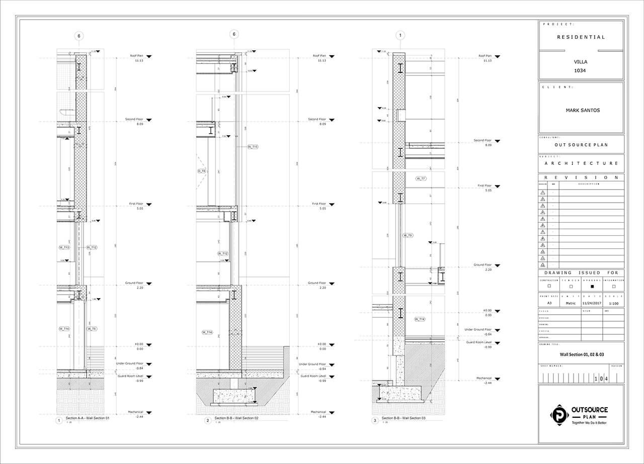 Bim Modeling Of A Villa In Autodesk Revit