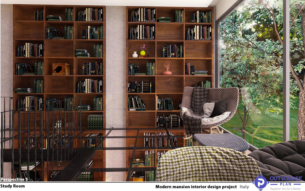 Modern Mansion Interior Design Project