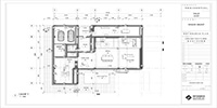 the ground floor plan of a family house